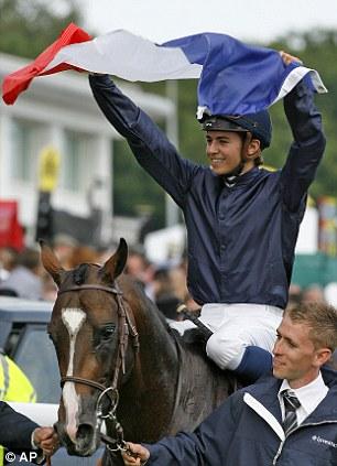 Plum ride: Derby-winning jockey Mickael Barzalona will ride Delegator
