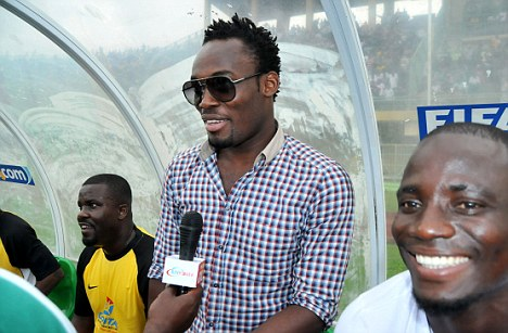 In the spotlight: Essien could leave Stamford Bridge this summer