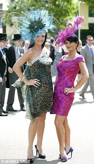 Chelsey Baker and Ilda de Vico both wearing hats by  Ilda de Vico