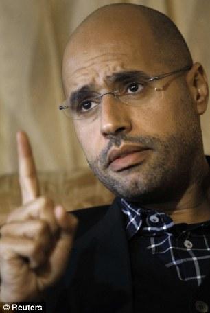 'My father's regime is dead': Saif al-Islam Gaddafi, son of Colonel Gaddafi, appeared to offer concessions