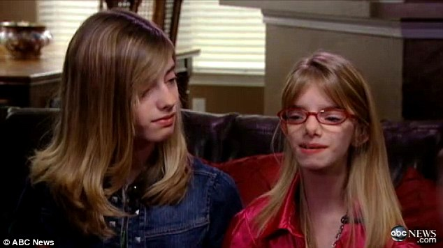 Energetic: Now 12-years-old, Sienna lives just as full a life as her sister does though does encounter health problems