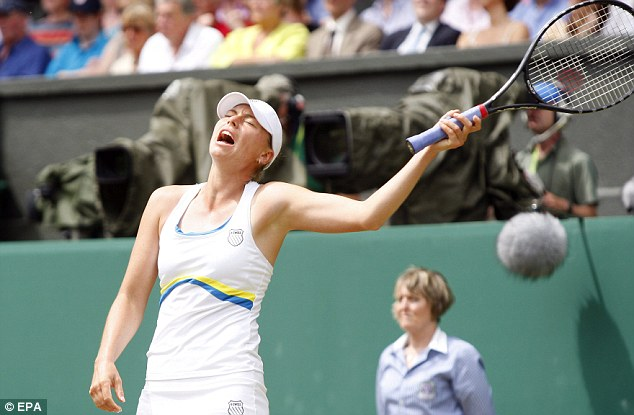 Close run thing: Second seed Vera Zvonareva lost in the final last time out