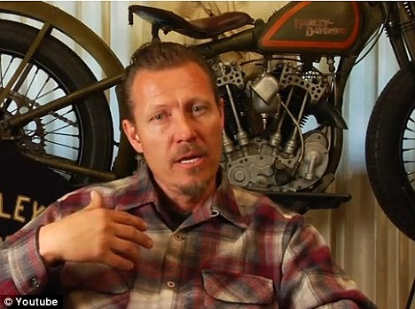 Challenging pre-conceptions: Father-of-four Jeff Decker is a Mormon - and the chief sculptor for Harley Davidson