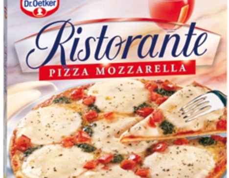 Frozen pizza: The Ristorante brand from Dr Oetker is number one in Italy