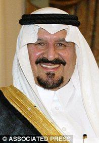 Saudi Arabia's Crown Prince Sultan Bin Abdulaziz Al-Saud
