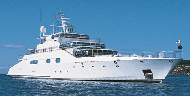 Aidan Barclay's Yacht Enigma