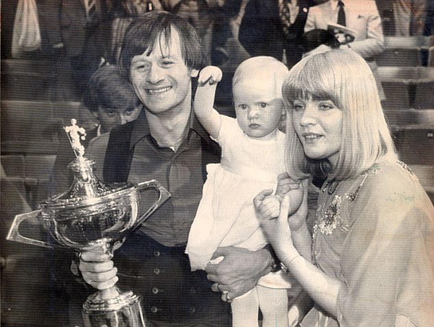 Natural flair: Former world snooker champion Alex 'Hurricane' Higgins