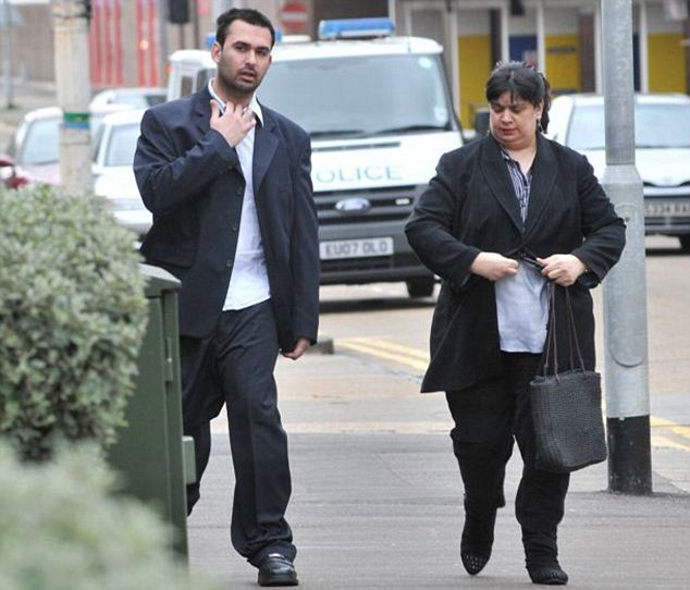 Worry: Ryan Cleary's mum, Rita (right), said her son rarely left his bedroom