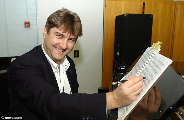 Cleary's father Neil Cleary pictured in his role as a musical director at Peterborough Regional College in Cambridgeshire. His son Ryan was arrested yesterday