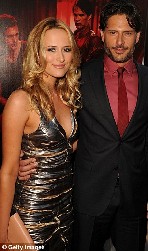 Joe Manganiello, who plays Alcide Herveaux, arrived with his fiancée Audra Marie