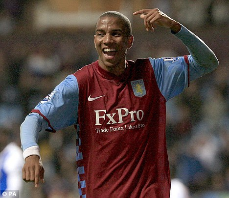 Villa Park exodus: Ashley Young is another player who is heading for the door