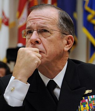 Chairman of the Joint Chiefs of Staff Admiral Mike Mullen shared his concerns with Obama's plan today in front of the Armed Services Committee