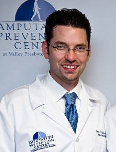 Study: Dr Lee C Rogers said diabetics should keep wounds covered around their pets