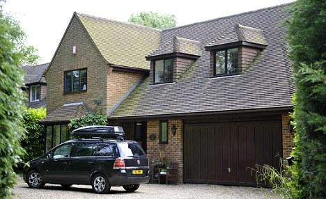 Life of luxury: Mark Serwotka's £500,000 detached home in Surrey