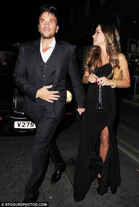 'Just friends': Elen denies she has rekindled her romance with Peter Andre, telling Mail Online, 'nothing is happening'