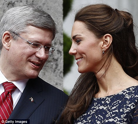 Kate and Stephen Harper