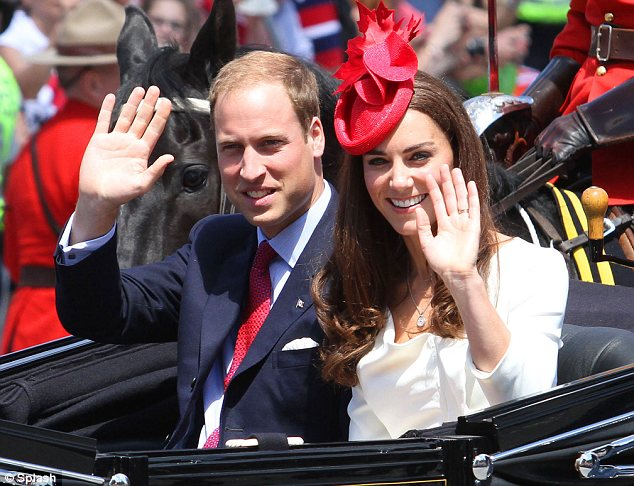 The Royal couple took part in the city's Canada Day celebrations