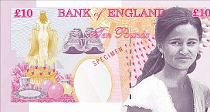 Take note: Pippa Middleton has been voted one of the top three celebrities Brits would like to see on a tenner