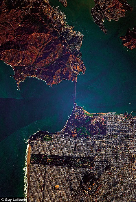 San Francisco Bay, California taken by Guy Laliberte