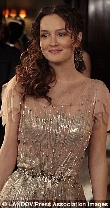 "Pictured Leighton Meester as Blair Waldorf in ""Gossip Girl"""