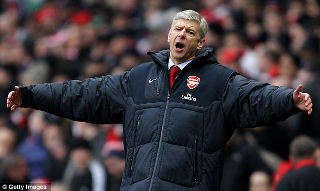 Making an offer: Arsene Wenger wants to bring top talent to Arsenal as he hunts for a first trophy since 2005