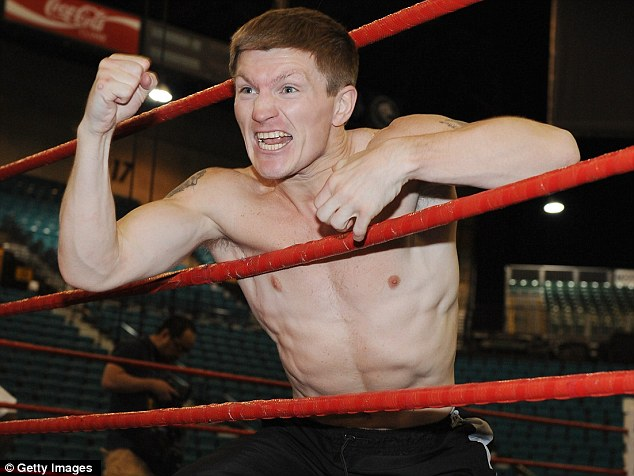 Bowing out: Ricky Hatton has announced his retirement from boxing at the age of 32