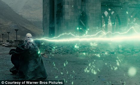Battle to the end: He Who Must Not Be Named, otherwise known as the terrifying Lord Voldemort, played by Ralph Fiennes