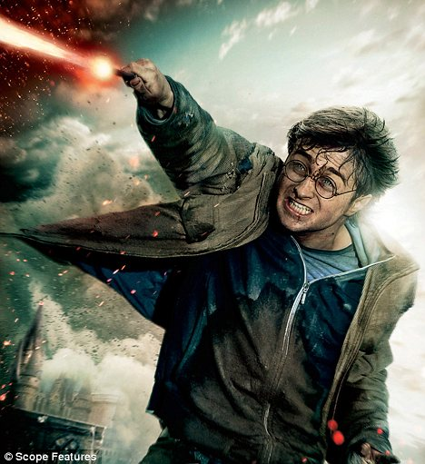 Pottering around: Daniel Radcliffe has grown up in the public glare since making his acting debut as the star of the films