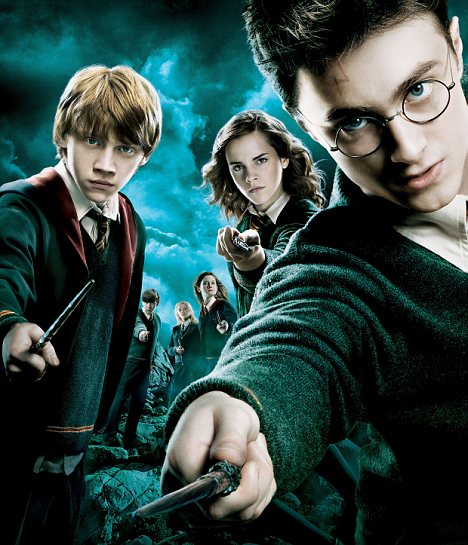Expelliarmus: This poster promoted the 2007 film Harry Potter and the Order of the Phoenix