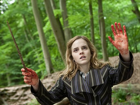 Emotional: Emma Watson said the end of the Harry Potter films was 'devastating'