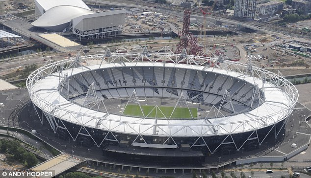 Grounds for concern: Spurs' appeal over the Olympic Stadium (above) has put London's bid at risk