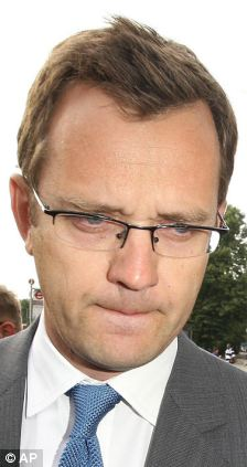 Former Downing Street communication chief Andy Coulson