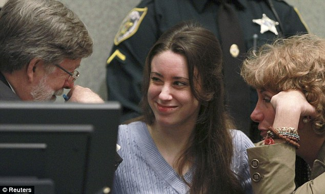 New Friends: Casey Anthony has nowhere to go when she leaves jail but it is thought she may stay with Defense Counsel Cheney Mason and Dorothy Clay Sims