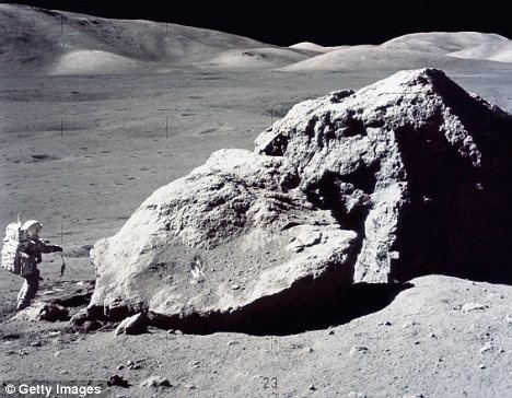 The U.S. government gifted 230 moon rocks to governments throughout the world following the Apollo 11 and 17 space missions
