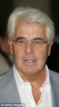 Hush money: Publicist Max Clifford was reportedly paid £1million by News International after he sued over phone-hacking