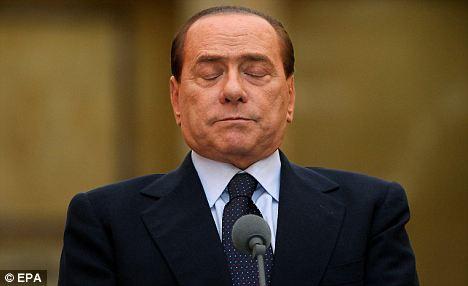 Pressure: There could be trouble ahead for Italian Prime Minister Silvio Berlusconi