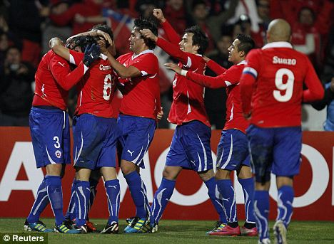 Chile players