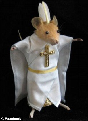 A mouse posted on the Facebook page Badly Stuffed Animals