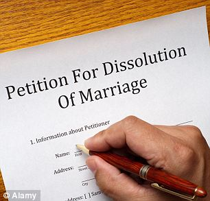 A breakdown of families has engulfed the UK with divorce on the rise