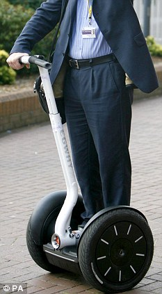 Not to blame: Experts found no fault with the Segway