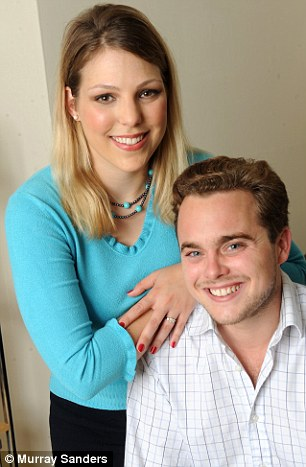 Bride and prejudice: Heidi with fiance Freddie at home in Fulham has her own view of the email affair