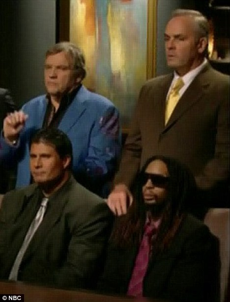 Attempted comeback: Jose tried to rehabilitate his image by appearing on Celebrity Apprentice