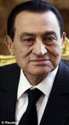 In a coma? Egypt's former President Hosni Mubarak was said to have suffered a stroke and be in a coma