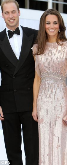 Glamour: The Duke of Cambridge and Duchess of Cambridge at the 10th annual ARK Gala Dinner