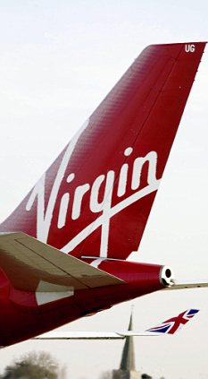 Virgin Atlantic tail-fin