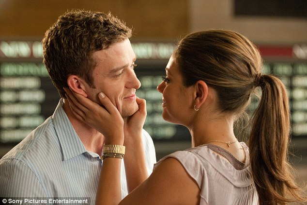 Just very good friends: Timberlake portrays Dylan, while Mila plays Jamie, two friends whose relationship turns complicated after they start having sex on a casual basis