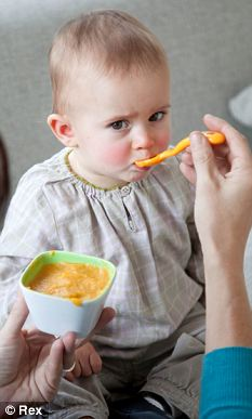 Scientists said children given food from jars may be less keen on vegetables later as the food is likely to have a uniform taste and texture