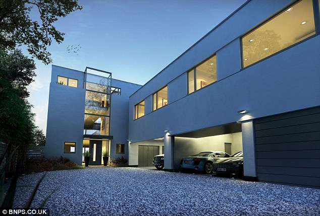 Off-road parking: There will be plenty of space outside the house for the Porsche or Range Rover