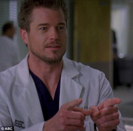 Going back to work: Eric is said to be returning to work on Grey's Anatomy where he plays Dr. Mark Sloane, affectionately known as 'McSteamy'