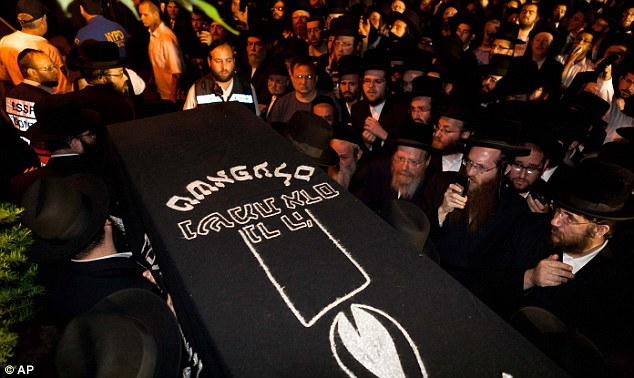 Outpouring; At least 8,000 people gathered in Brooklyn as Leiby's casket was carried to his funeral service